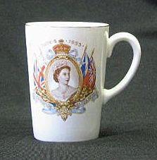 Queen Elizabeth II Coronation Beaker