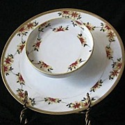Noritake Hand Decorated Shrimp Server