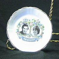 Charles And Diana Wedding Dresser Dish