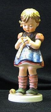 "Hummel 255 ""A Stitch In Time"" Figurine Trademark Six"