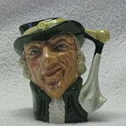 "Royal Doulton Small ""Regency Beau"" Character Jug"