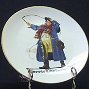 "Gorham 1982 Christmas Plate ""Jolly Coachman"""
