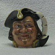 Royal Doulton Small Captain Henry Morgan Character Jug