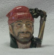 Royal Doulton Small Character Jug The Lumberjack
