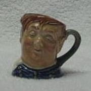 "Royal Doulton Miniature ""Fat Boy"" Character Jug"