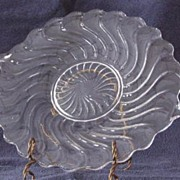 "Fostoria ""Colony"" Handled Cake Plate"