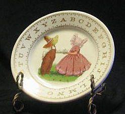 Vintage Child's ABC Plate