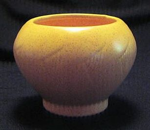 McCoy Floraline Speckled Yellow Planter