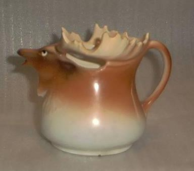 Austrian Stag Shaped Porcelain Creamer