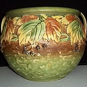 Roseville Pottery 623-10 Blackberry Jardiniere
