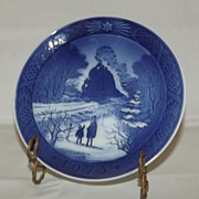Royal Copenhagen Annual Christmas Plate 1973
