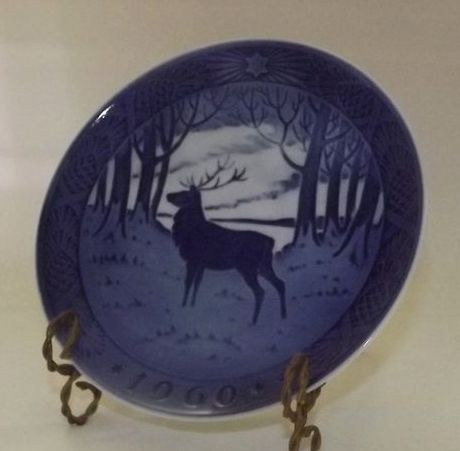 Royal Copenhagen Annual Christmas Plate From 1960