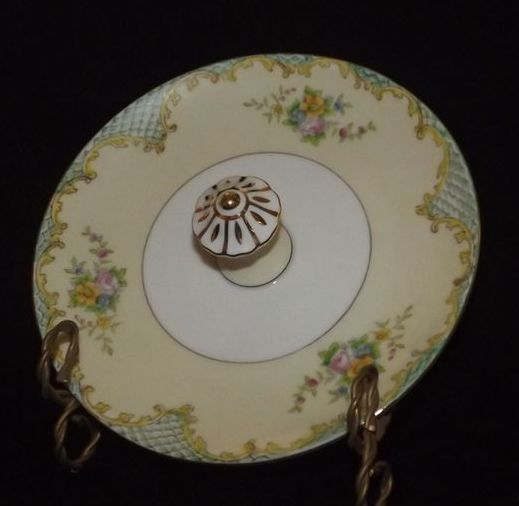 Center Handled Noritake Candy Dish A Dream Remembered