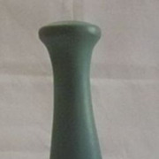 Van Briggle Turquoise to Blue Shaded Bud Vase