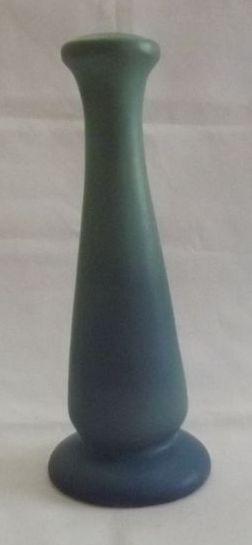 Van Briggle Turquoise to Blue Shaded Bud Vase
