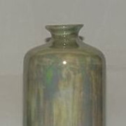 Iridescent Porcelain Vase From Bavaria