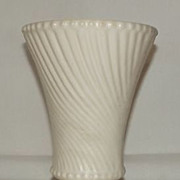 McCoy Potter Swirl Sided Vase
