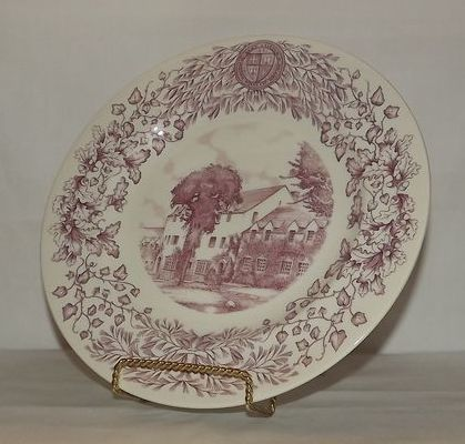 Wedgwood Collector Plate Depicting Dean Eaton Hall