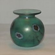 Herb A. Thomas Art Glass Vase