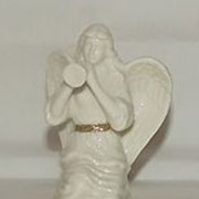Lenox Angel Blowing A Trumpet Figurine