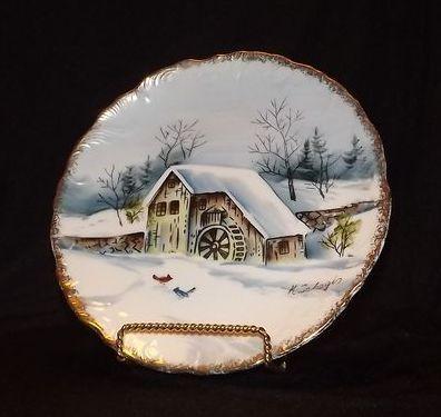 Artist Signed Norcrest Plate