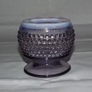 Westmoreland Glass Amethyst Hobnail Vase