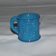 Blue Mug Shaped Toothpick Holder