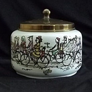 Cycling Motif Humidor Made In Holland