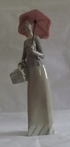 "Lladro Retired Figurine Titled ""Dressmaker"""