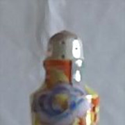 Flower Decorated Lusterware Sugar Shaker