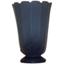 "Weller ""Loru"" Pattern Shaded Blue Vase"