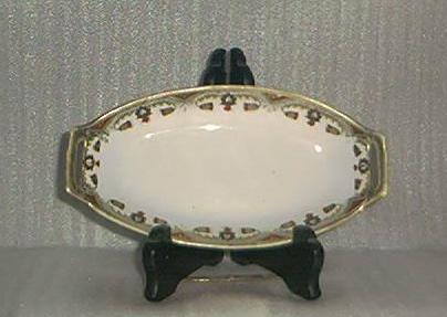 Pierced Handled Porcelain Dish