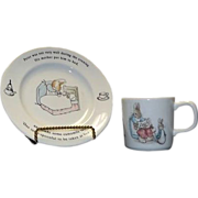 Wedgwood Juvenile Peter Rabbit Breakfast Set