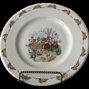 "Royal Doulton ""Bunnykins"" Juvenile Plate"
