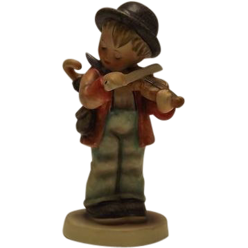 "Hummel Figurine Titled ""Little Fiddler"""