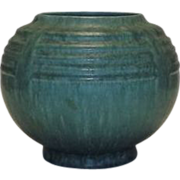 "Roseville Pottery ""Tourmaline"" Vase"