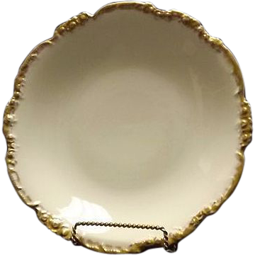 Jean Pouyat Porcelain Center Bowl