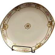 Noritake Pierced Handle Cookie Plate