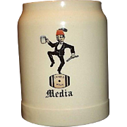 "Shriner's Mug ""Media"" Dated 1906"