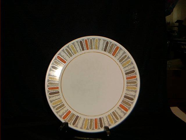 """Noritake Progressive China """"Mardi Gras"""" Salad Plate"""