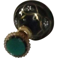 DeVilbiss Hand Enameled Perfume Atomizer