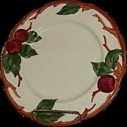"Set Of Four Franciscan ""Apple"" Pattern Dinner Plates"