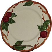 "Set Of Four Franciscan ""Apple"" Pattern Dinner Plates"