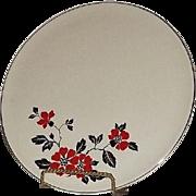 "Hall ""Poppy"" Pattern Cake Plate"
