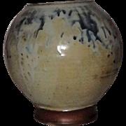 Artist Signed Studio Pottery Hand Thrown Vase