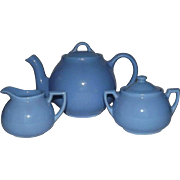 Lipton Tea Promotional Teapot, Covered Sugar, And Creamer