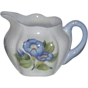 "Shelley ""Morning Glory"" Pattern Dainty Shaped Creamer"