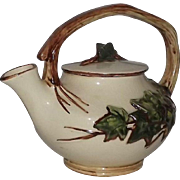 McCoy U.S.A. Ivy Pattern Teapot