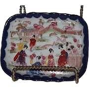 "Unmarked ""Geisha Girl"" Pin Tray"