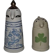 Webco Shultz And Dooley Salt And Pepper Shakers